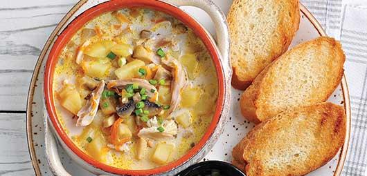 Chicken & Potato Soup