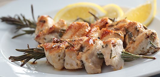 Chicken & Rosemary Kebabs