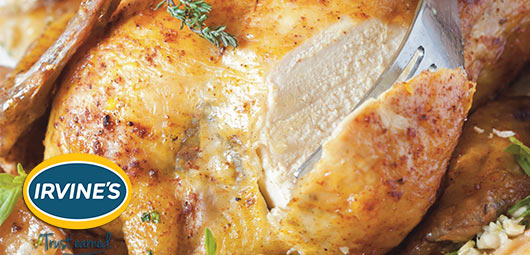Irvine's Perfect Roast Christmas Chicken