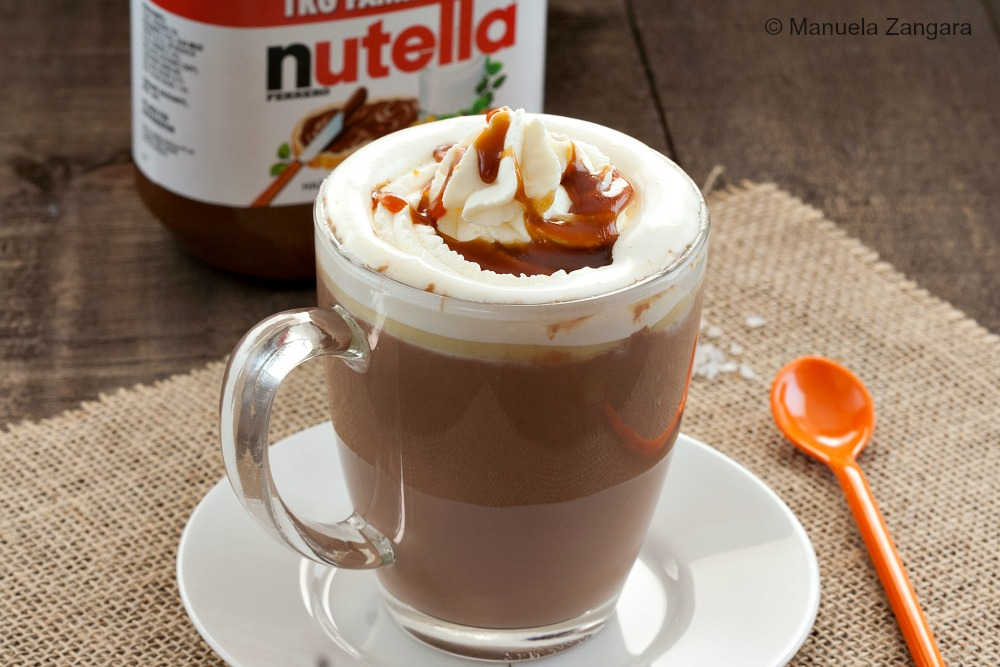 Slow Cooker Nutella Hot Chocolate