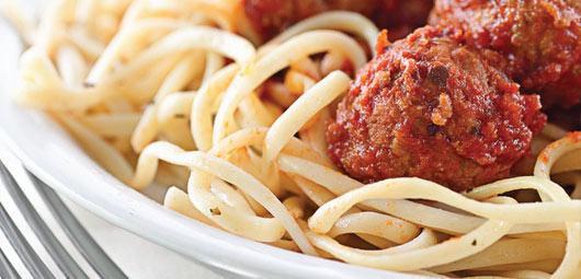 Spaghetti & Mini Meatballs