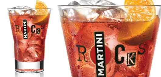 Martini Rocks Rosso