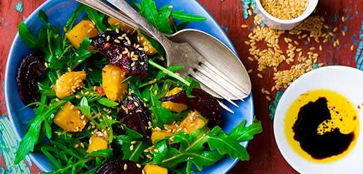 Roast Butternut & Beetroot salad