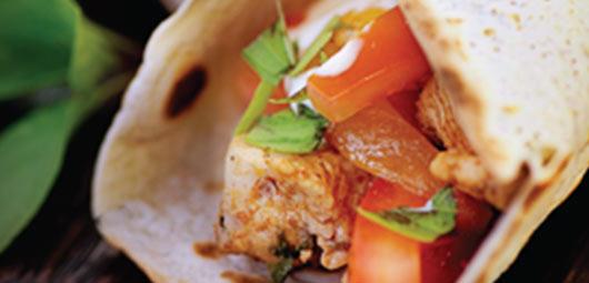 Sizzling Chicken Tortillas