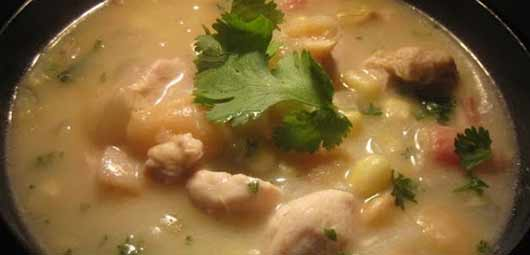 Southern Succotash Soup with Chicken