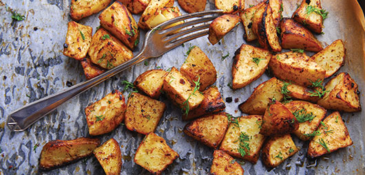 Garlic-&-Parsley-Roast-Potatoes