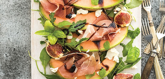 Melon,-Fig-&-Prosciutto-Salad