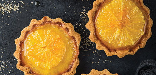 Orange-Tartlets